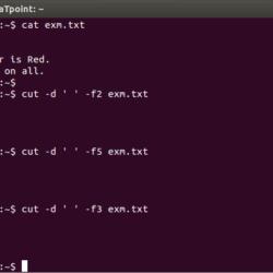 linux cut