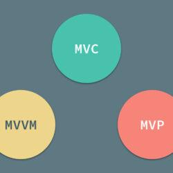 MVC-MVVM-MVP